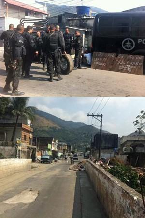 ocupação polícia chatuba faleva_300 (Foto: Janaina Carvalho/G1)