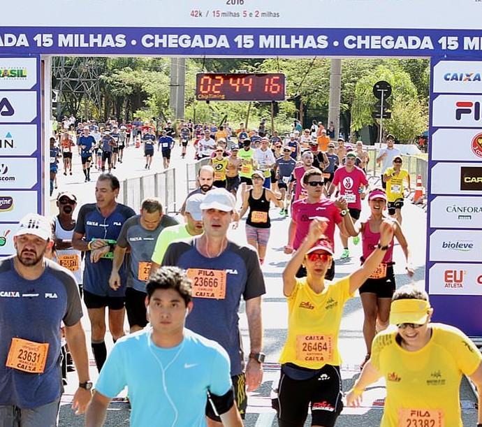 Maratona de São Paulo 2016 Darlene e Bruno (Foto: Arquivo pessoal)