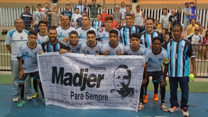 Macau Campeonato Norte-rio-grandense de Futsal (Foto: Augusto Gomes/GloboEsporte.com)