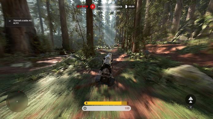 Inicie pelos modos básicos de Battlefront (Foto: Reprodução/Victor Teixeira)
