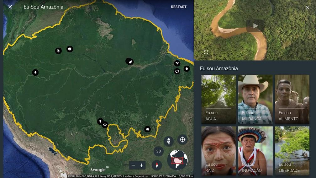 Google Earth lança novo serviço que mapeia áreas da Amazônia (Foto: Divulgação)