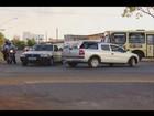 Obras de corredor de ônibus em Uberlândia geram transtornos