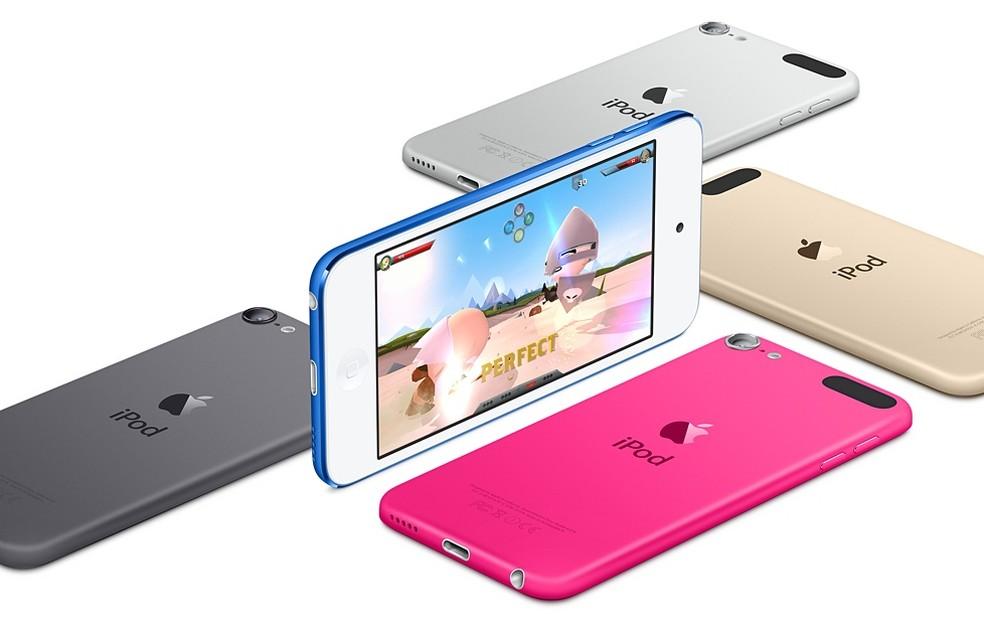 iPod Touch é um player de música bastante similar ao iPhone (Foto: Divulgação/Apple)