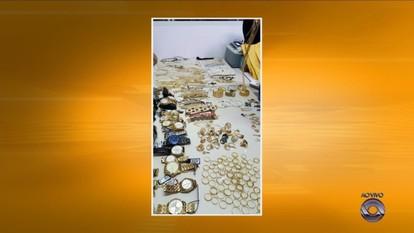 Polícia prende quadrilha que roubou R$ 100 mil em jóias em Rio do Sul