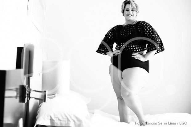 Thaís Oliveira, A Mais Bela Gordinha do Rio 2016, em ensaio sexy para o EGO (Foto: Marcos Serra Lima / EGO)