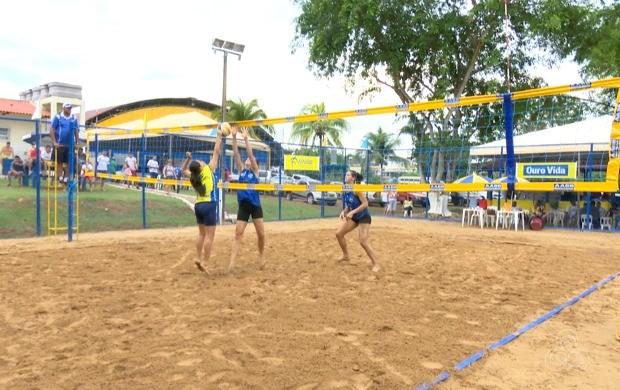 Atletas do Acre, Amazonas, Rondônia e Acre disputaram o título em oito modalidades na AABB-AC (Foto: Globo Esporte Acre)