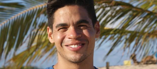Apresentador Leo Souza (Foto: Lidiane Medeiros)