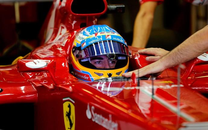 fernando alonso Ferrari gp de Abu Dhabi (Foto: Agência Reuters)