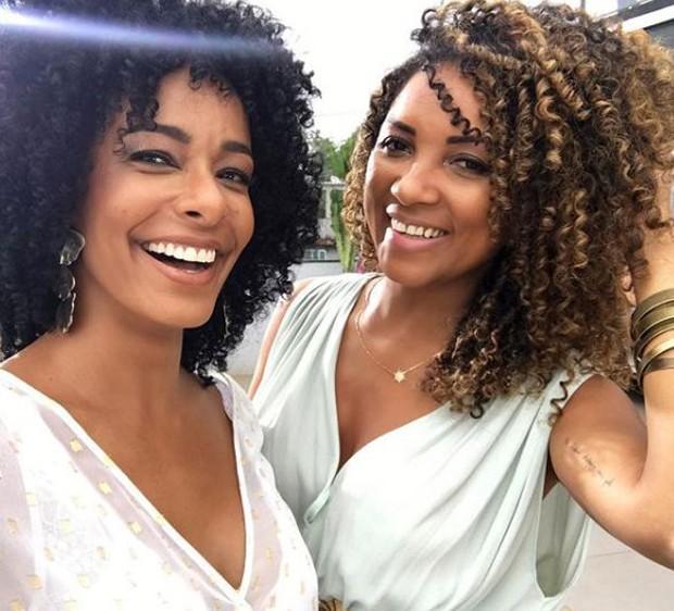 Aline Prado e Gill Vianna (Foto: Reprodução/Instagram)