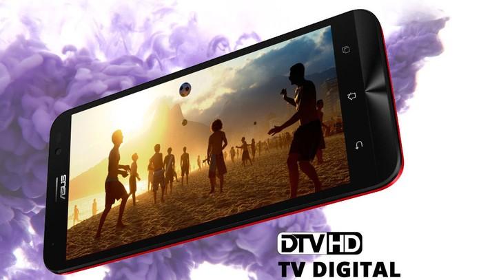 Asus Go Live tem TV Digital em HD e câmera selfie de 5 megapixels (Foto: Divulgação/Asus)