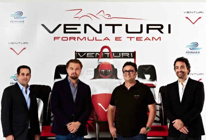 O astro Leonardo DiCaprio é co-fundador de uma das equipes que disputam a Fórmula E (Foto: Divulgação)