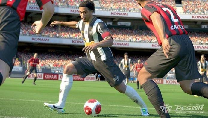 PES 2015 aparece no PS4 (Foto: Divulgação)