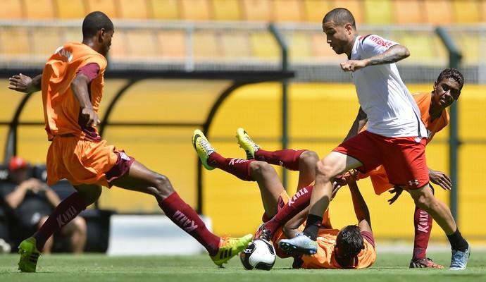 Bruno jogo-treino são paulo x boa (Foto: MAURO HORITA/AGIF/ESTADÃO CONTEÚDO)