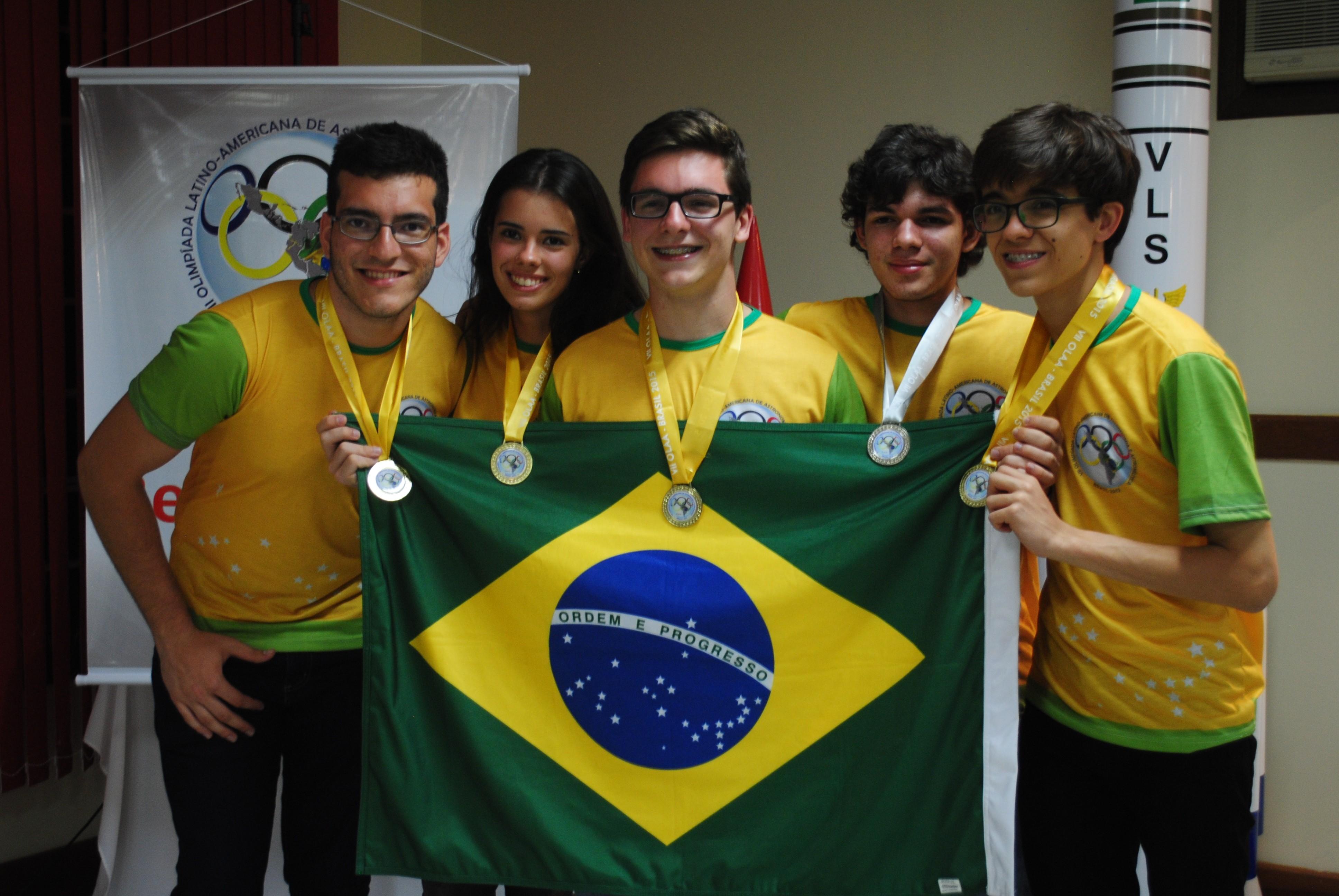 Por causa do desempenho dos cinco, o Brasil teve os melhores resultados na história do evento (Foto: Divulgação/Carlos Pinho)
