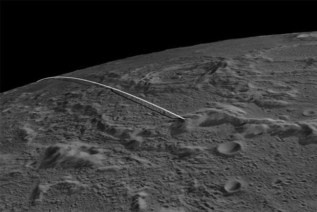 Ilustração mostra como deverá ser o trajeto final das sondas gêmeas (Foto: Nasa)