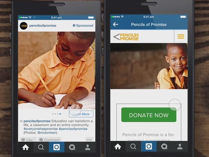 É possível acessar o link oficial diretamente pelo Instagram (Foto: Divulgação/Instagram)