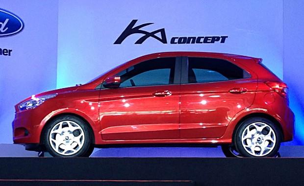 Ford Ka Concept é apresentado em Camaçari (Foto: Aline Magalhães/Autoesporte)