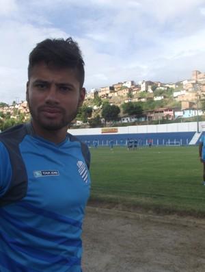 Matheus Fernandes retornou aos treinamentos com o grupo (Foto: Caio Lorena / Globoesporte.com)