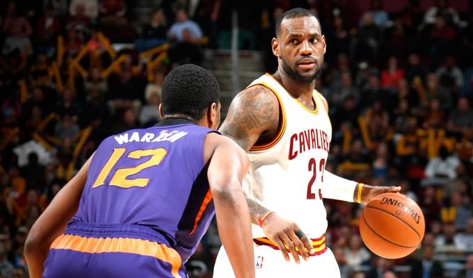 Lebron James, Suns X Cavaliers NBA (Foto: Getty Images)