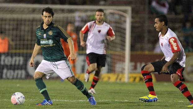 Valdivia Palmeiras x Oeste (Foto: Célio Messias / Ag. Estado)
