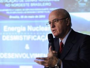 O presidente da Eletronuclear Othon Luiz Pinheiro da Silva durante Comissão do Meio Ambiente na Câmara dos Deputados em maio de 2010 (Foto: Janine Moraes/Câmara dos Deputados)