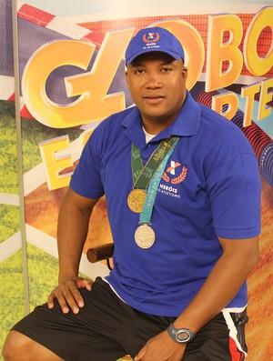 Edson Ribeiro, medalhista olímpico no revezamento 4 x 100 m (Foto: Josiel Martins)