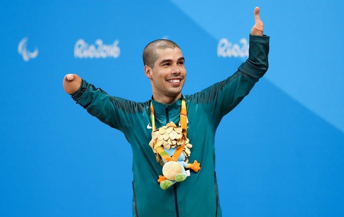 Daniel Dias, natação (Foto: Hagen Hopkins / Getty Images)