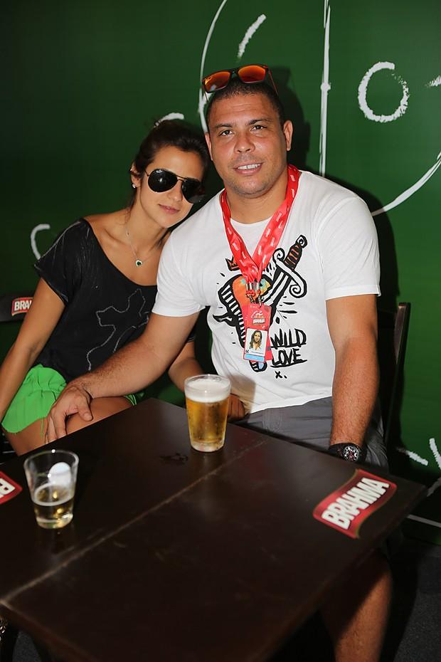 Ronaldo e Paula Morais (Foto: Murillo Tinoco / Agi9 / Foto Rio news)