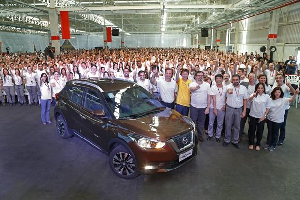 Nissan Kicks começa a ser produzido no Brasil (Foto: Divulgação)