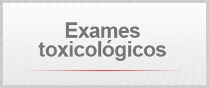 Exames toxicológicos (Foto: G1)