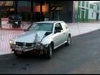 Embriagado, jovem é preso ao bater carro em avenida de Ponta Grossa