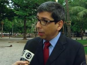 Antonio José Vieira Neto, secretário estadual de educação do RJ (Foto: Reprodução/ TV Globo)