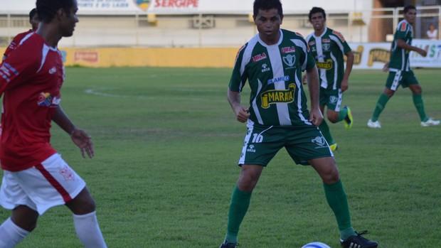 Sergipe não teve tantas dificuldades contra o Lagarto (Foto: Felipe Martins/GLOBOESPORTE.COM)