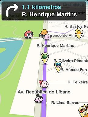Waze (Foto: Divulgação)