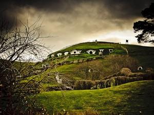 Casa de hobbit na Nova Zelândia (Foto: Hobbiton)