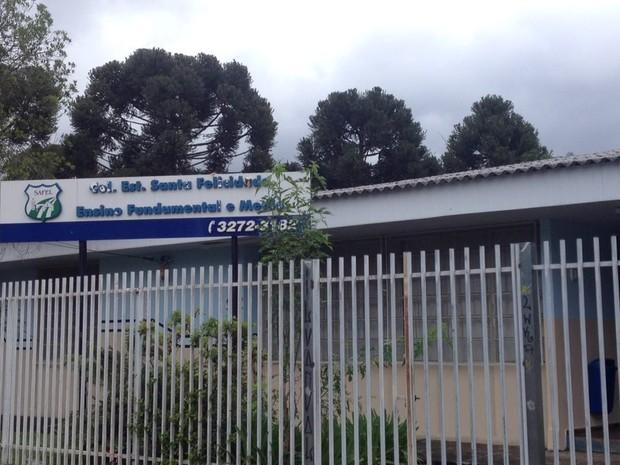 Colégio Estadual Santa Felicidade (Foto: Luiza Vaz/RPC)
