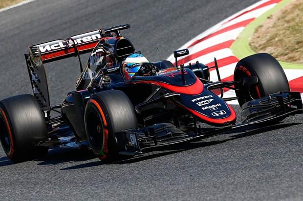 O preto foi a cor dominante no McLaren nos dois últimos anos (Foto: Divulgação)