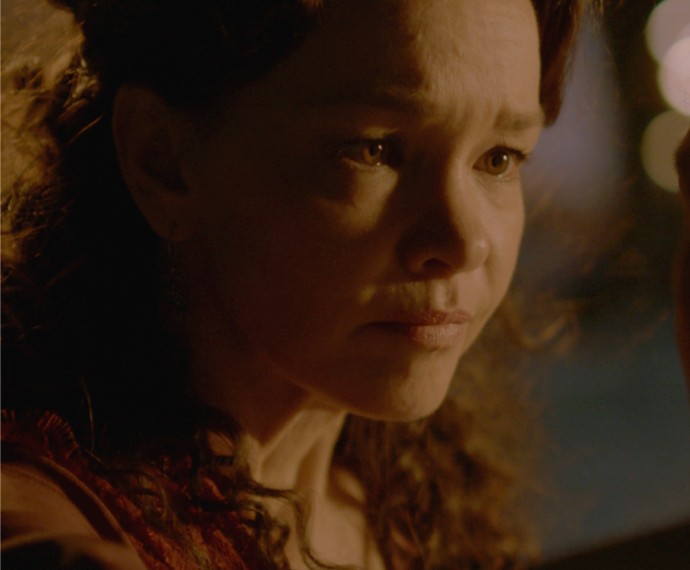 Dorotéia fica chocada ao descobrir que Bernardo está vivo (Foto: TV Globo)