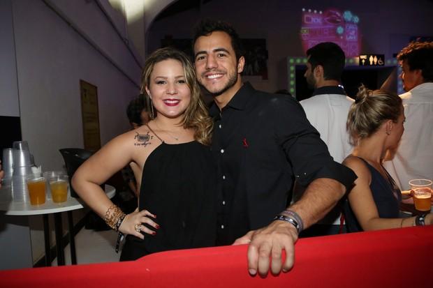 Ex-BBB Maria Claudia e Matheus em festa no Rio (Foto: Reginaldo Teixeira/ CS Eventos/ Divulgação)