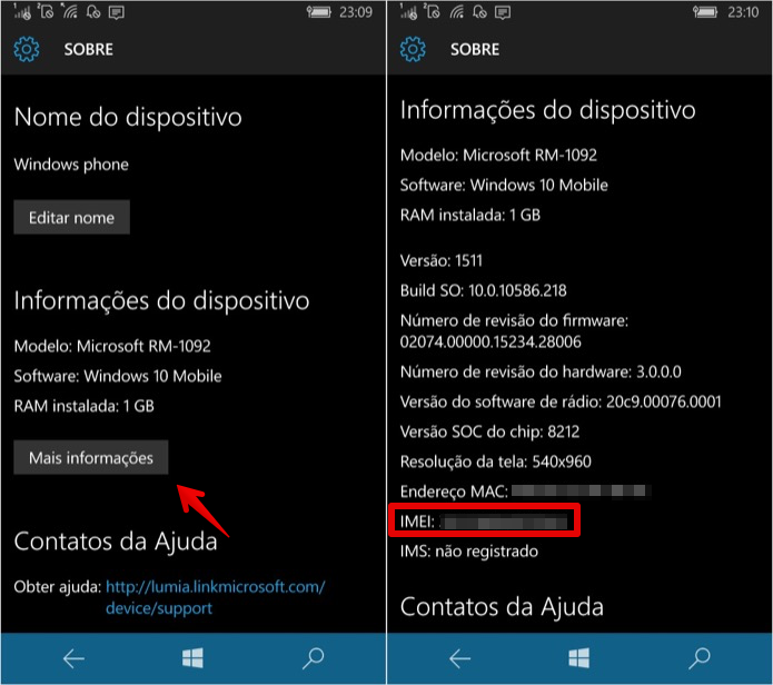 how to find imei no of mobile