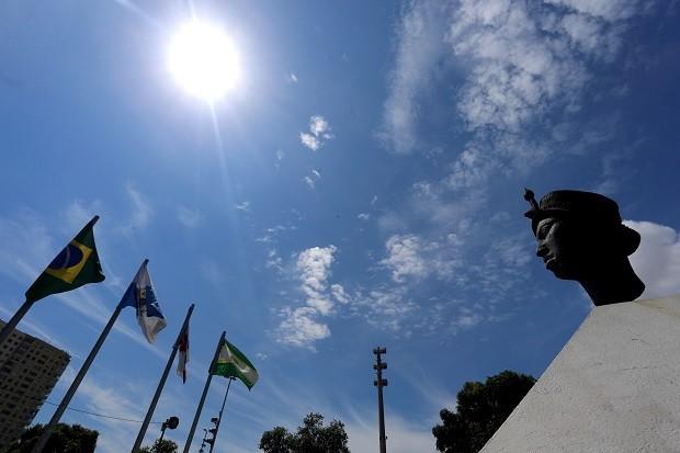 Monumento em homenagem a Zumbi dos Palmares, no Rio