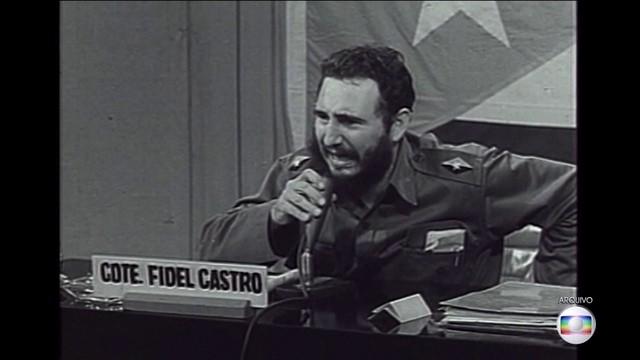 fidel castro_JH (Foto: TV Globo)