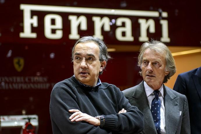 marchionne montezemolo ferrari (Foto: AFP)