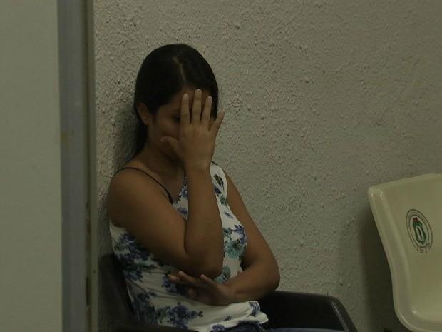 Em depoimento à polícia, suspeito disse que queria abrir uma poupança (Foto: TV Verdes Mares/Reprodução)