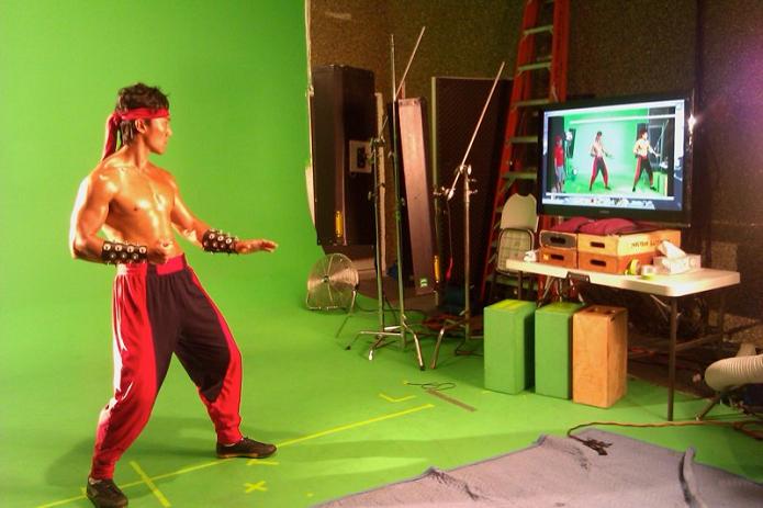 Captura de imagens para o jogo foi divulgada pela maquiadora (Foto: Divulgação/Tanea Brooks)