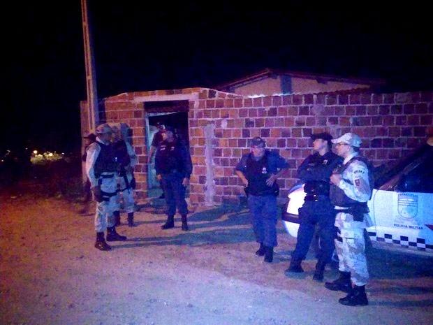 Prostíbulo onde ocorreu a chacina é localizado no município de Itajá  (Foto: Francisco Coelho/Focoelho.com)