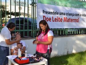 mais de 20 mães participaram do evento (Foto: Ascom/Sesapi)