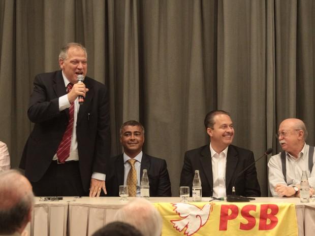 O prefeito de Petrópolis, Rubens Bomtempo,  falou sobre o crescimento do PSB em todo o país (Foto: Divulgação/PSB)