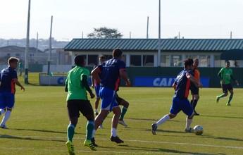 Coritiba vence jogo-treino contra o Andraus; Vinícius sai machucado