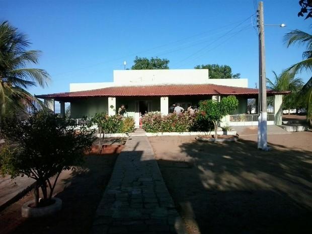 Fazenda onde aconteceu a operação fica no município de Marcelino Vieira, RN (Foto: Capitão Inácio Brilhante/Polícia Militar)